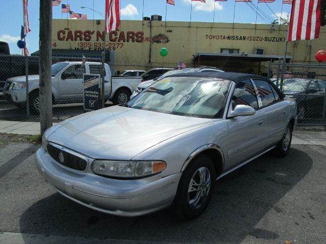 2002 BUICK CENTURY CUSTOM 4DR SEDAN silver abs - 4-wheel anti-theft system - alarm clock dayti