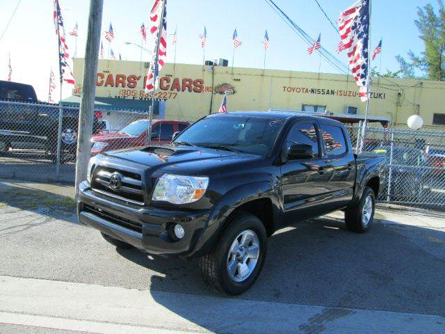 2008 TOYOTA TACOMA PRERUNNER V6 4X2 PICKUP CREW CAB black abs - 4-wheel alloy wheel locks anti-t