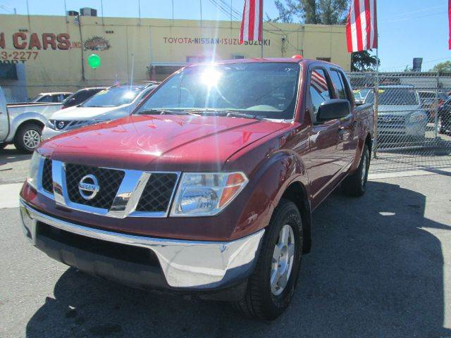 2006 NISSAN FRONTIER SE 4DR CREW CAB 4WD SB 4L V6 6M red 4wd type - part time abs - 4-wheel ai