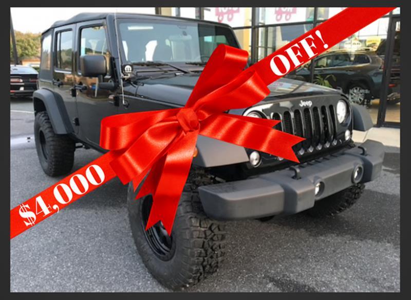 jeep wrangler unlimited for sale in easton md. Black Bedroom Furniture Sets. Home Design Ideas