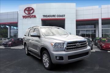 2017 Toyota Sequoia for sale in Stuart, FL