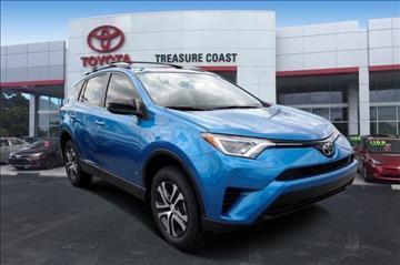 2017 Toyota RAV4 for sale in Stuart, FL