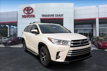 2017 Toyota Highlander for sale in Stuart, FL