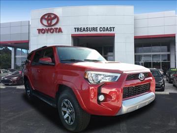 2017 Toyota 4Runner for sale in Stuart, FL
