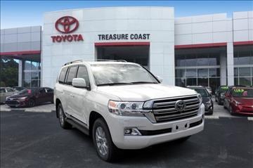 2017 Toyota Land Cruiser for sale in Stuart, FL