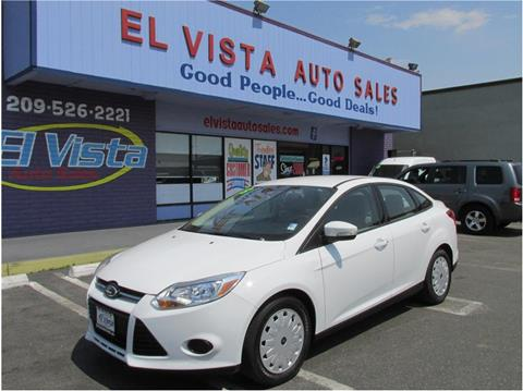 2013 Ford Focus & Ford Used Cars Used Cars For Sale Modesto El Vista Auto Sales markmcfarlin.com