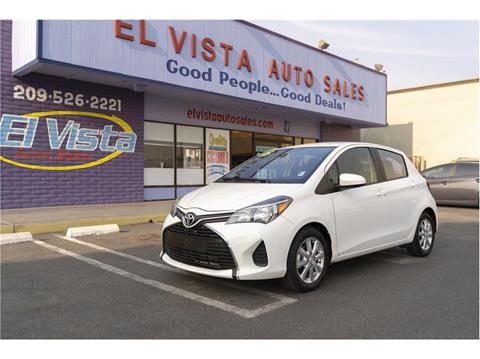 2015 Toyota Yaris For Sale In Modesto Ca