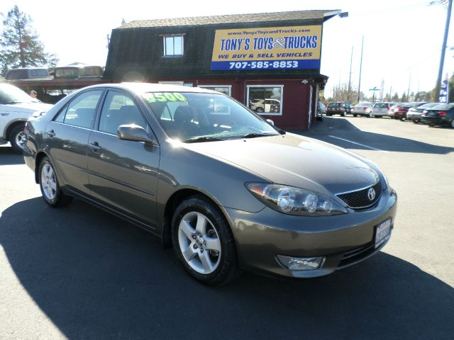 2005 TOYOTA CAMRY SE 4DR SEDAN charcoal 1 owner vehicle clean carfax abs - 4-wheel alloy whe
