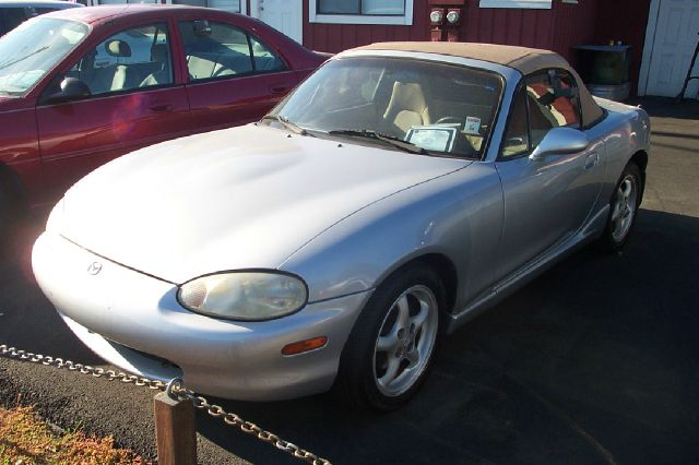 2000 MAZDA MX-5 MIATA LS silver automatic low miles air conditioningalloy wheelsamfm radioanti