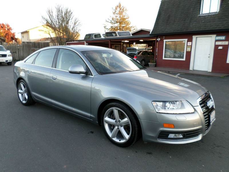 2010 AUDI A6 30T QUATTRO PREMIUM PLUS AWD 4D gray supercharge 18 in sport package 2-stage
