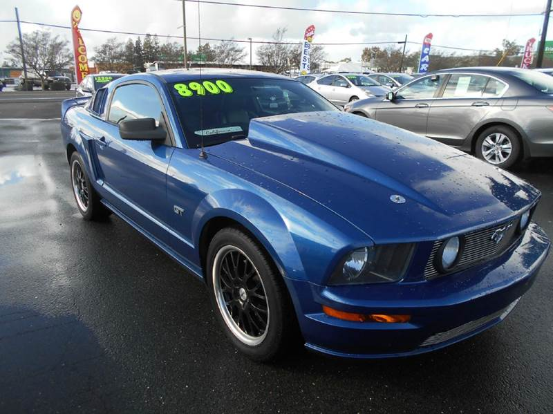 2006 FORD MUSTANG GT PREMIUM 2DR COUPE blue abs - 4-wheel airbag deactivation - occupant sensing