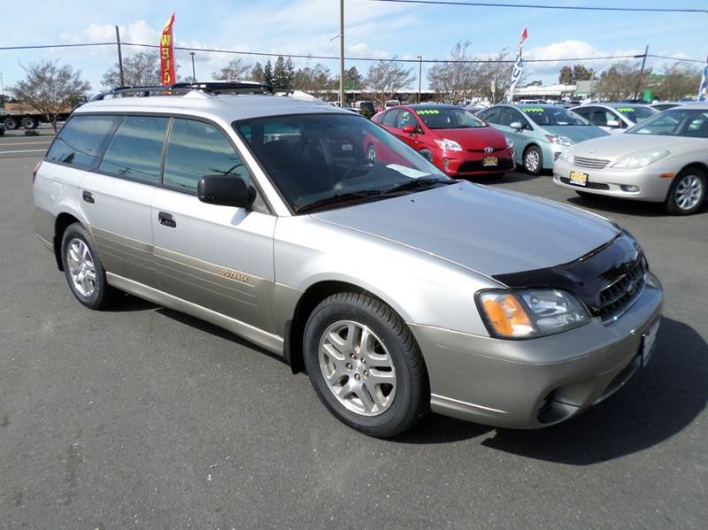 2003 SUBARU OUTBACK BASE AWD 4DR WAGON 1 owner new tiresmanual 5sp abs - 4-wheel