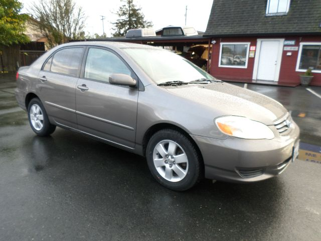 2003 TOYOTA COROLLA LE 4DR SEDAN gray low miles new tires clean carfax 4-speed automatic transmis