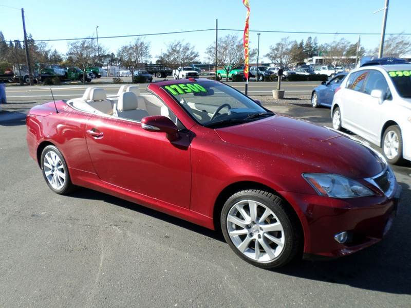 2010 LEXUS IS 250C BASE 2DR CONVERTIBLE 6A abs - 4-wheel air filtration airbag deactivation - oc