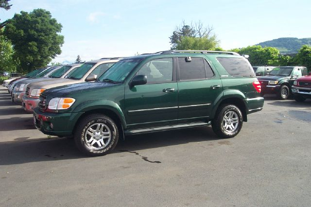 2004 TOYOTA SEQUOIA LIMITED abs 4-wheel included leather