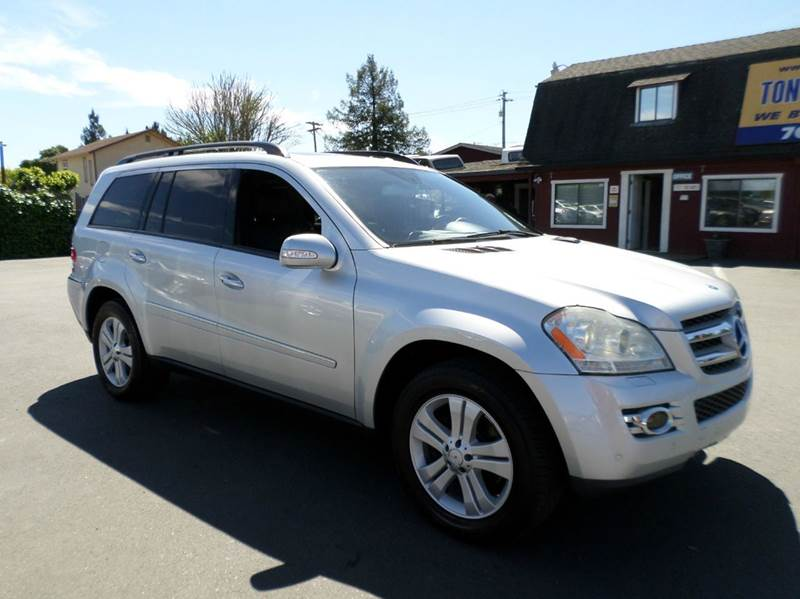 2007 MERCEDES-BENZ GL-CLASS GL450 AWD 4MATIC 4DR SUV silver one owner vehicle 2-stage unlocking