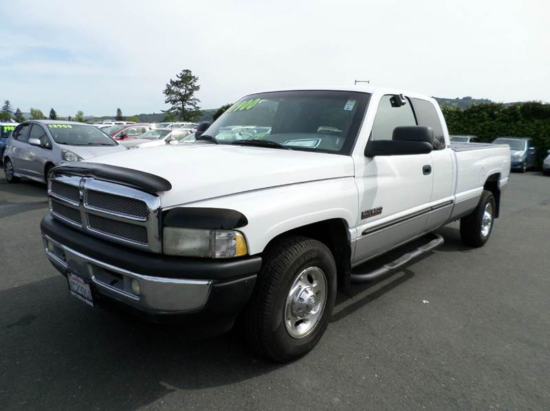 2000 DODGE RAM PICKUP 2500 SLT 4DR EXTENDED CAB LB LARAMIE white cumings turbo diesel abs -