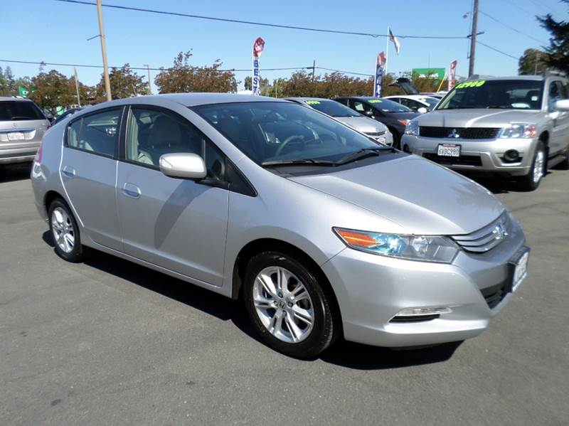 2010 HONDA INSIGHT EX 4DR HATCHBACK silver hybridonly 48486 miles4043 mpg one ow