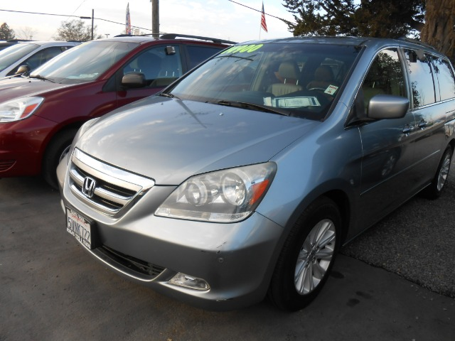 2006 HONDA ODYSSEY TOURING WDVD blue 3rd row seating abs - 4-wheel air conditioning alloy whee