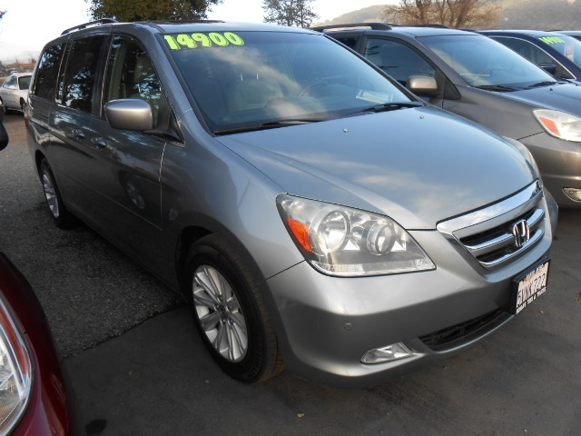 2006 HONDA ODYSSEY TOURING WDVD blue 3rd row seating abs - 4-wheel air conditioning alloy whe