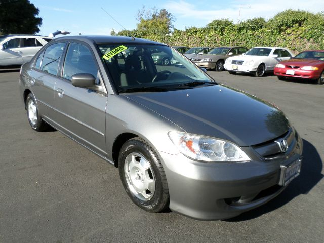 2005 HONDA CIVIC HYBRID 4DR SEDAN gray clean carfax 1 owner vehicle  abs - 4-wheel cd changer