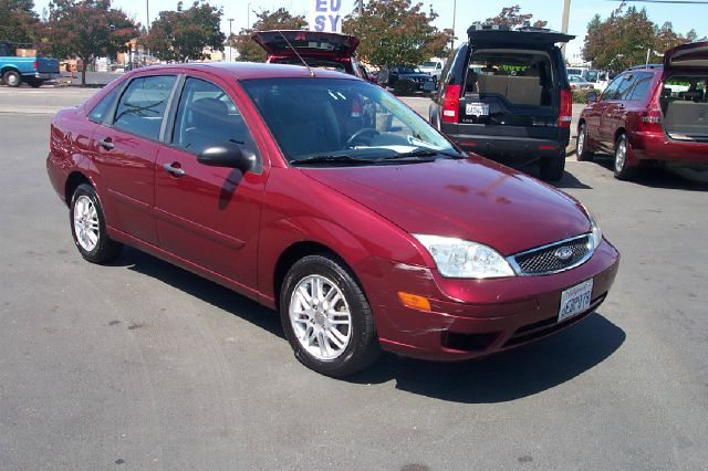 2007 FORD FOCUS ZX4 SE 4DR SEDAN red antenna type - mast anti-theft system - engine immobilizer