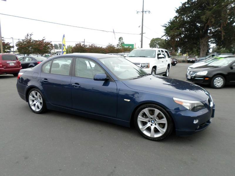 2004 BMW 5 SERIES 545I 4DR SEDAN blue one owner vehiclenice clean vehicle abs - 4-wh