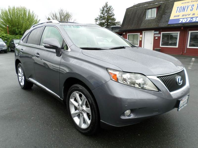 2012 LEXUS RX 350 BASE AWD 4DR SUV gray one owner vehicle awd 2-stage unlocking d