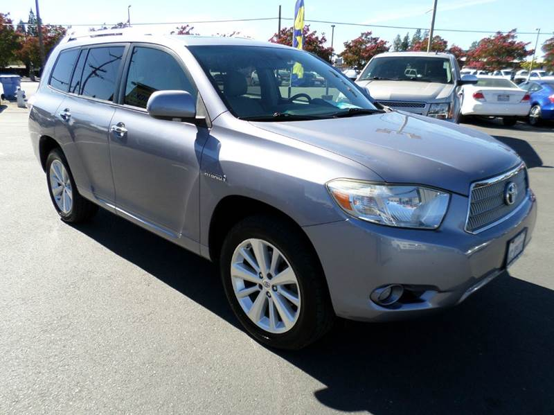 2008 TOYOTA HIGHLANDER HYBRID LIMITED 4DR SUV gray hybrid  limited well equip27 mpg cit