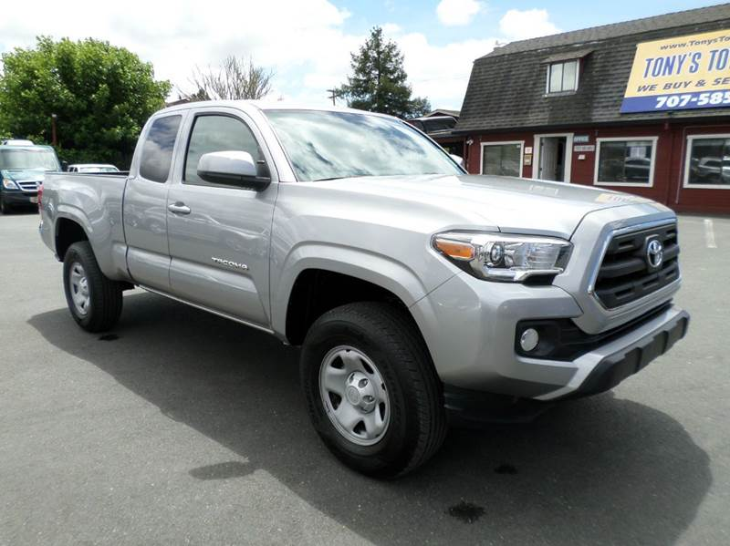 2016 TOYOTA TACOMA SR5 4X4 4DR ACCESS CAB 61 FT SB silver 4wd selector - electronic hi-lo 4wd ty