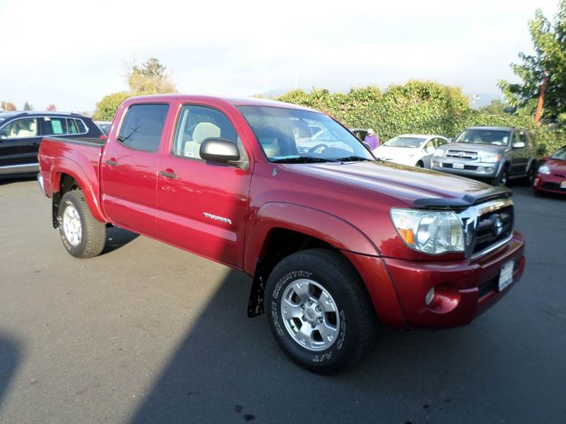 2005 TOYOTA TACOMA PRERUNNER V6 4DR DOUBLE CAB RWD gray abs - 4-wheel alloy wheels axle ratio -