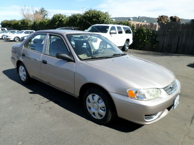 2001 TOYOTA COROLLA CE 4DR SEDAN gold new tires center console daytime running lights front