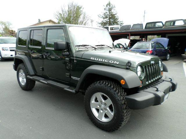 2010 JEEP WRANGLER UNLIMITED RUBICON 4X4 4DR SUV green one owner vehicle low miles new tires