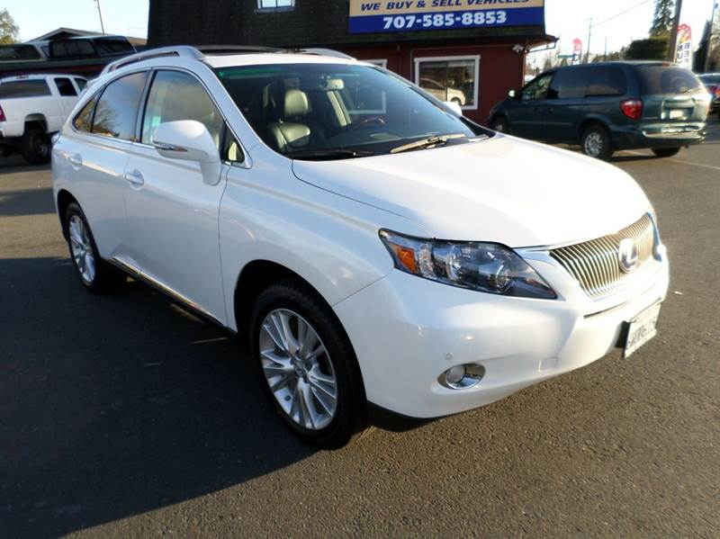 2012 LEXUS RX 450H BASE AWD 4DR SUV white one owner          30 mpg city 28 hwy hybrid new tires 2