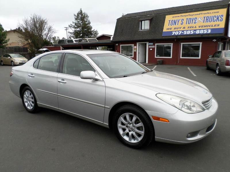 2002 LEXUS ES 300 BASE 4DR SEDAN silver one owner vehicle abs - 4-wheel anti-theft system -