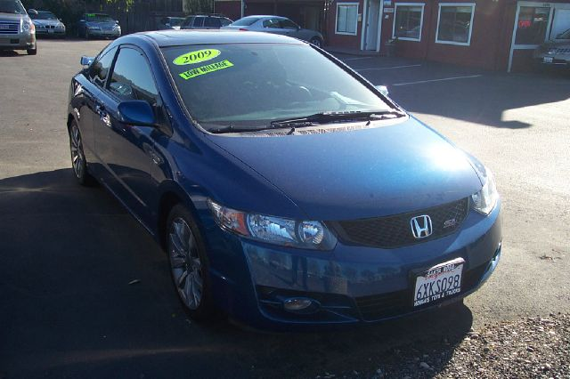 2009 HONDA CIVIC SI COUPE 6-SPEED MT teal si coupe 6-speed mt  abs brakesair conditioningalloy w