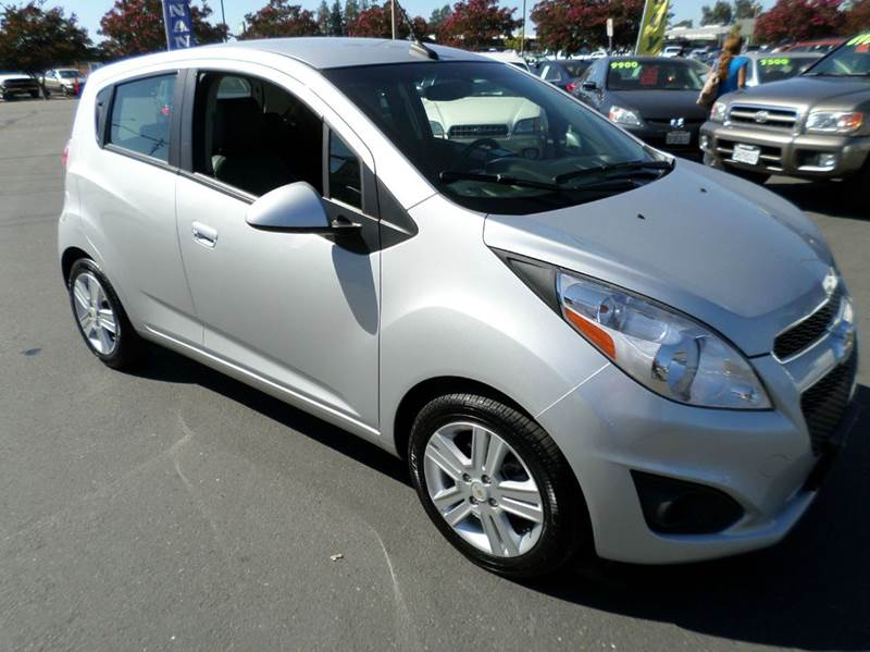 2013 CHEVROLET SPARK 1LT AUTO 4DR HATCHBACK silver personal own car not a rental vehicle