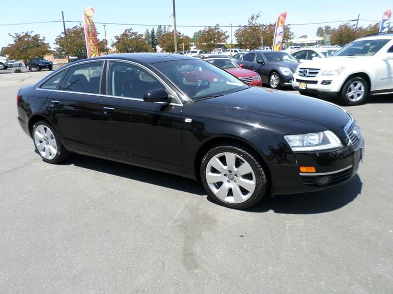 2007 AUDI A6 32 4DR SEDAN black one owner vehicle 2-stage unlocking doors abs - 4-wheel