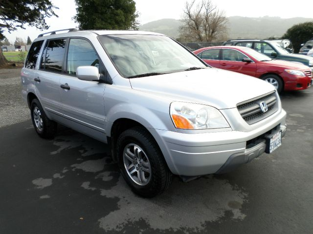 2004 HONDA PILOT EX-L 4WD 4DR SUV WLEATHER 356 silver 1 owner vehicle new tires  brakes