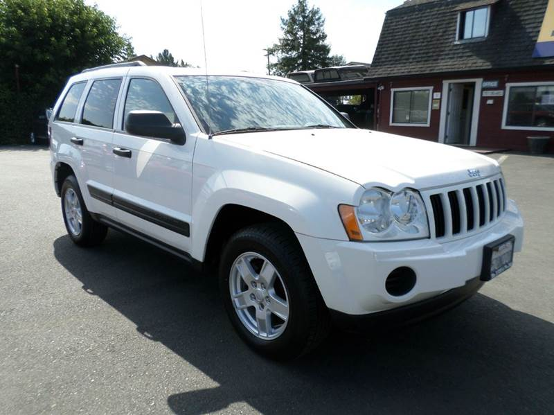 2005 JEEP GRAND CHEROKEE LAREDO 4DR 4WD SUV white new tires4wd 4wd type - full time