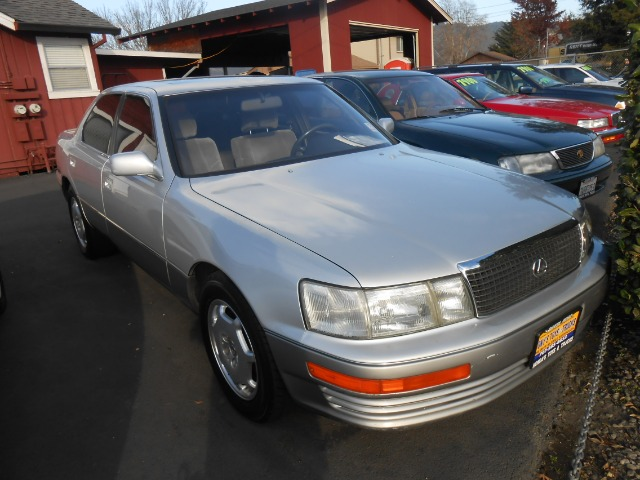 1991 LEXUS LS 400 silver air conditioning alloy wheels amfm radio anti-lock brakes driver and
