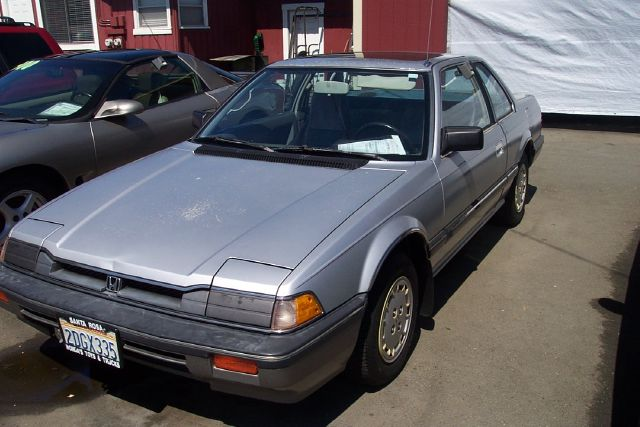 1984 HONDA PRELUDE silver 2 doorair conditioningamfm radiochild seatfront wheel drivemanual
