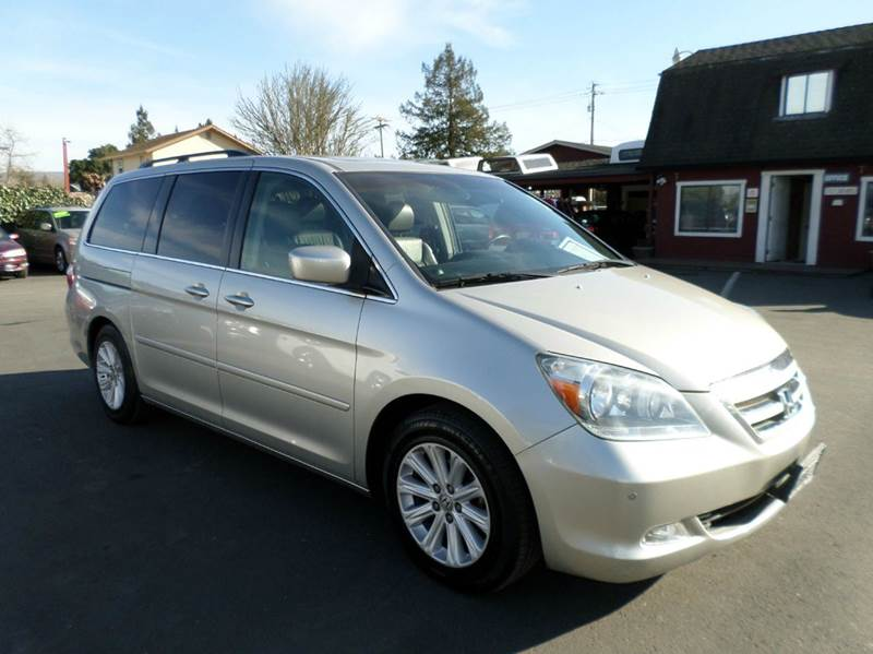 2005 HONDA ODYSSEY TOURING 4DR MINI VAN silver one owner mini-vanclean abs - 4-wheel adju