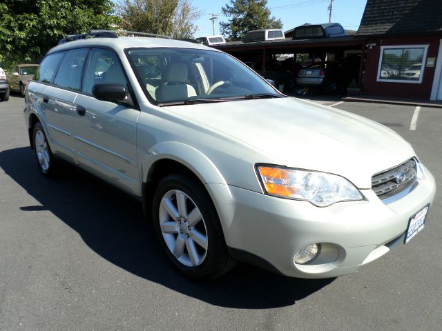 2006 SUBARU OUTBACK 25I AWD 4DR WAGON light green abs - 4-wheel active head restraint adjustabl