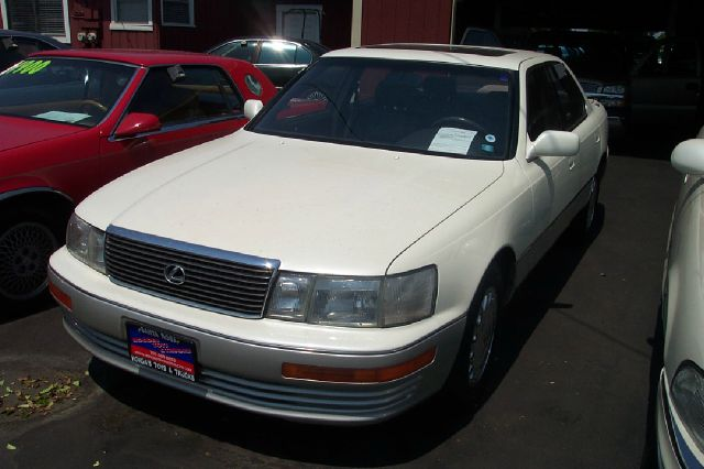 1991 LEXUS LS 400 BASE white abs brakesair conditioningalloy wheelsanti-brake system 4-wheel a