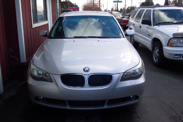 2004 BMW 5 SERIES 530I silver abs brakesair conditioningalloy wheelsamfm radioanti-brake syst