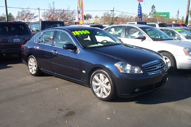 2006 INFINITI M45 45 SPORT blue air conditioning alloy wheels amfm radio wcd player anti-lock