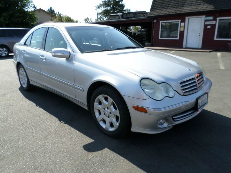 2005 MERCEDES-BENZ C-CLASS C 320 4DR SEDAN silver one owner vehiclenew tires abs - 4-wh