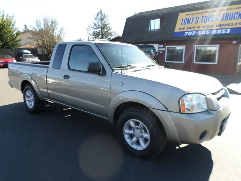 2003 NISSAN FRONTIER XE 2DR KING CAB RWD SB abs - 4-wheel axle ratio - 390 center console fron