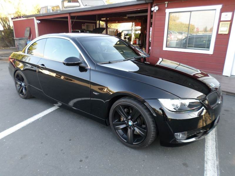 2008 BMW 3 SERIES 335I 2DR CONVERTIBLE black 2-stage unlocking - remote abs - 4-wheel air filtr